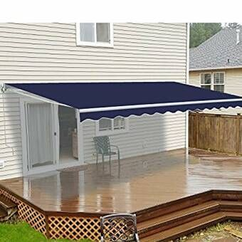 Aquila 14 Ft W X 3 Ft D Plastic Standard Door Awning With Images Door Awnings Patio Awning Awning
