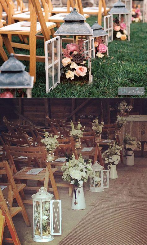 Cómo organizar tu boda: La Ceremonia. Ideas para decorar la ceremonia #bodas #decoracionbodas #weddingdecor