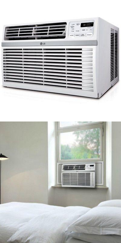 Central Air Conditioners 185108 Lg Lw1016er 10 000 Btu 115v Window Mounted Air Conditioner With Remote Co Air Conditioner Central Air Conditioners Conditioner