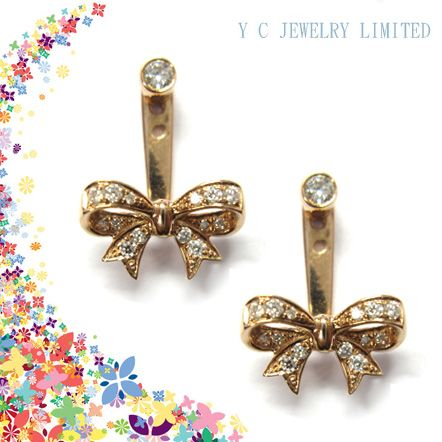 Y C Jewelry Ltd Booth No 1B506 Earring jackets Collection