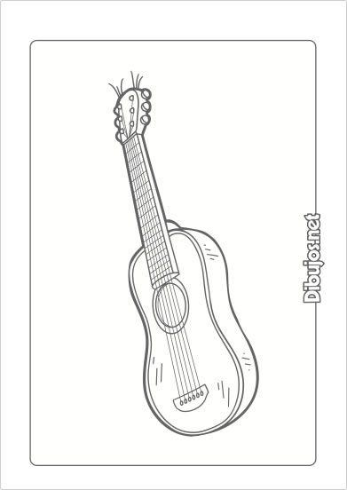 10 Dibujos De Instrumentos Musicales Para Imprimir Y Colorear Dibujos Net Character Fictional Characters Art
