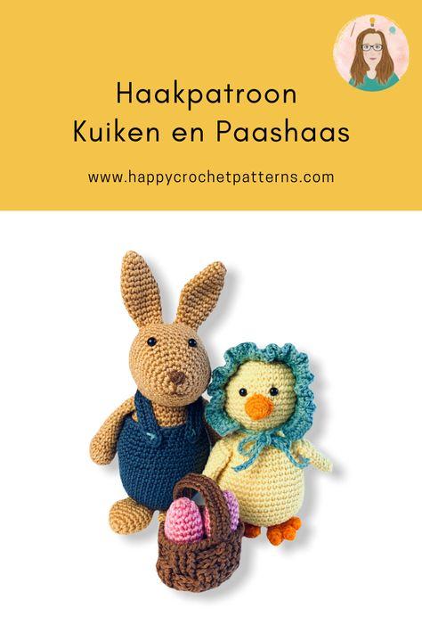 Haakpatroon Aap die schiet met bananen - Happy Crochet