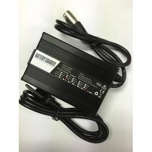 3-Pin Power Cord AC Adapter For HP8204B 24V 5A Lead-Acid Battery Charger incl