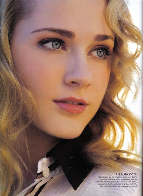 Evan Rachel Wood - InStyle, February 2007