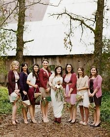 Bridesmaids from Real Weddings