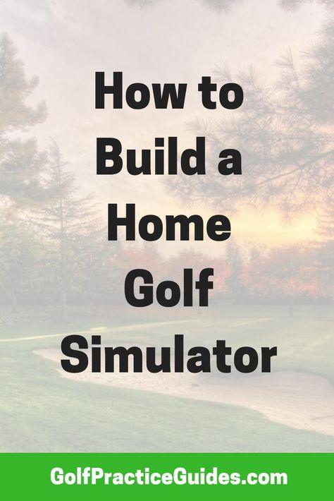 How to Build a Home Golf Simulator