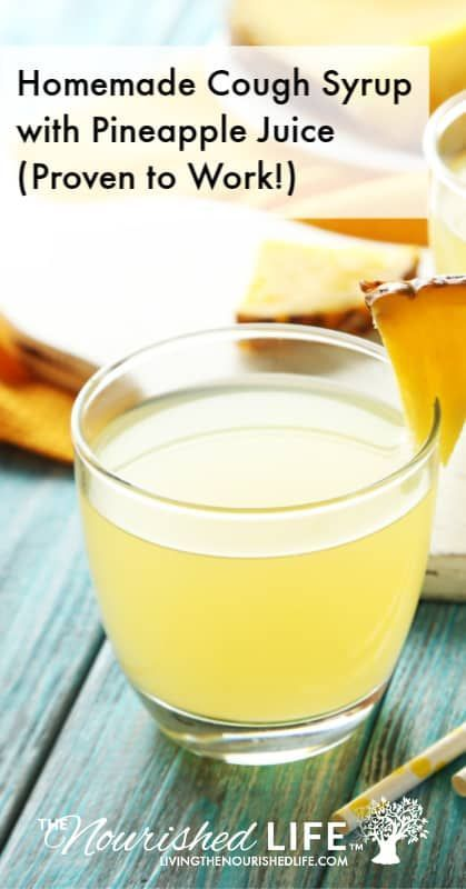 Beste hausgemachte Hustensaft (w / Ananassaft Best homemade cough syrup (w / pineapple juice (post_t Natural Health Remedies, Natural Cures, Natural Healing, Herbal Remedies, Natural Treatments, Natural Remedies For Cough, Home Remedy For Cough, Home Made Cough Drops, Honey Cough Remedy