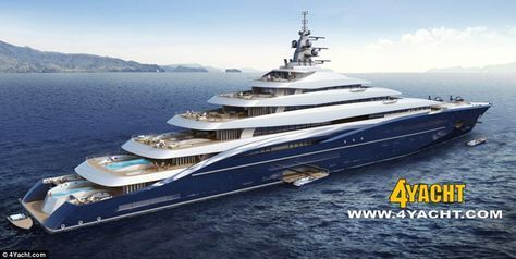 The 656ft Gigayacht Set To Become World S Biggest Private Boat