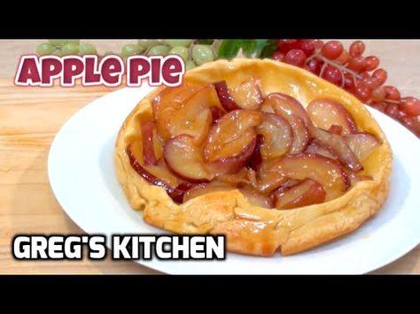 UPSIDE DOWN APPLE PIE RECIPE Greg's Kitchen Upside