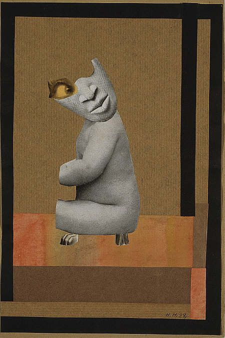 Hannah Höch, From the Collection: From an Ethnographical Museum, 1929