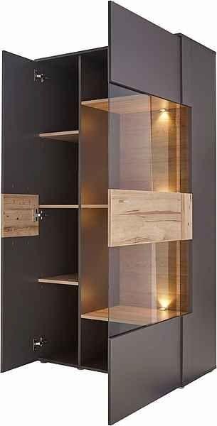 Forte Vitrine Como Hohe 168 Cm Inkl Beleuchtung Online Kaufen Otto 1000 Cupboard Design House Design Kitchen Crockery Unit Design