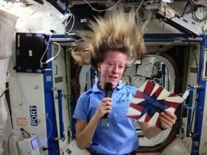 NASA Astronaut Karen Nyberg to make special appearance at Quilt Festival Houston!   We are thrilled to welcome a very special guest to Quilt Festival in Houston this year! NASA Astronaut Karen Nyberg will be making a series of special appearances on opening day of the show, Thursday, October 30, 2014 to introduce the results of the Astronomical Quilts! Block Challenge and share her experiences as an Astronaut and quilter with attendees.