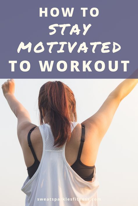 How to stay motivated to workout? Motivation is hard to come by sometimes so here are some tips to stay motivated to workout. Exercise should be part of your daily and these tips will help you do just that!