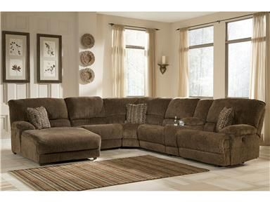 Shop For Signature Design Laf Press Back Power Chaise 1080079 And Other Living R Sectional Sofa With Recliner Brown Sectional Sofa Sectional Sofa With Chaise
