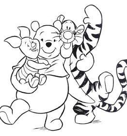 Disneyland Printable Coloring Pages 7 Walt Disney Winnie The Pooh