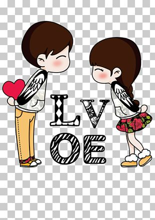 Icono Pareja Amor Nino Y Nina Ilustracion Png Clipart