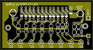 Membuat Vu Display Sederhana Untuk Power Amplifire Dengan Gambar