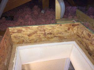 Attic Hatch Insulation Dam Laundry Room Diy Attic Insulation
