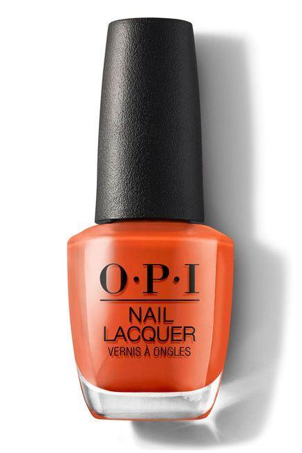 The Best Opi Nail Colors For Fall 2020 Hands Down In 2020 Orange Nail Polish Opi Nail Lacquer Opi Nail Polish