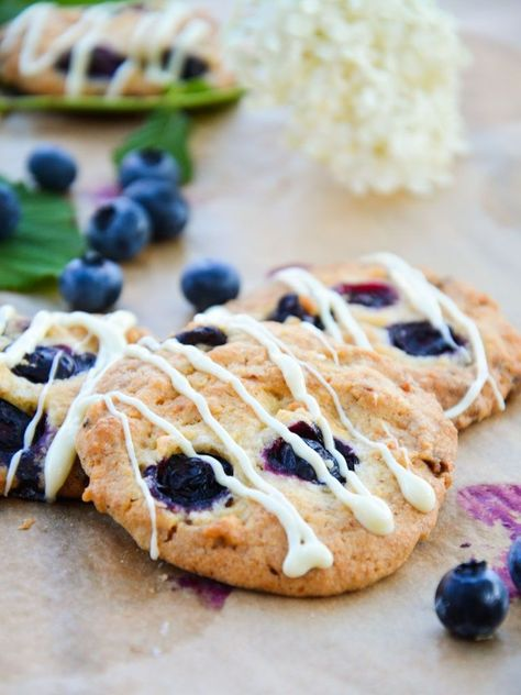 Photo of Heidelbeer-Schoko-Cookies – Baking Barbarine