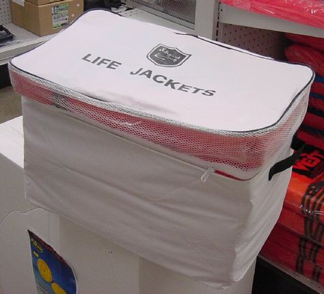 where to store life jackets on a boat - Google Search