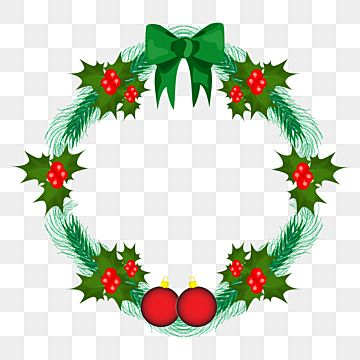 Christmas Wreath With Green Ribbon Png Tradional Brunsh Pack Collection Png And Vector With Transparent Background For Free Download Christmas Tree With Gifts Red Berry Wreath Gift Wreath