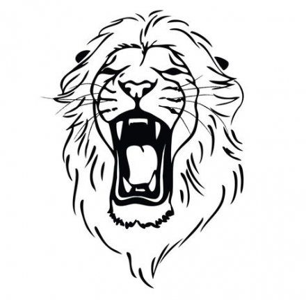Tattoo Simple Lion Outline 46 Super Ideas Lion Head Tattoos Lion Head Drawing Lion Drawing Simple See the following pic for the filled version. tattoo simple lion outline 46 super
