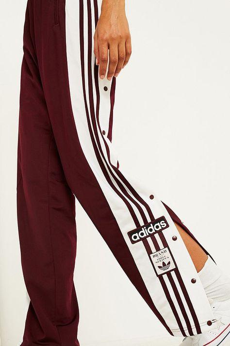adidas Originals Pantalon de survêtement Adibreak bordeaux