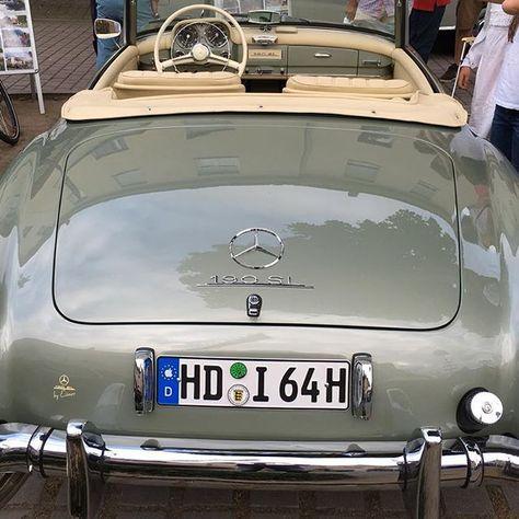 1955 Mercedes Benz 190sl Pic Via Paul Bauer 1 Instagram