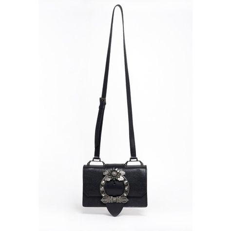 7769db4b5381 MIU MIU  Miu Lady  Crossbody Bag With Jewel Closure (27