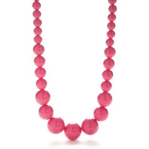 Kim Rogers Pink Pink Lucite Bead Statement Necklace ($15) ❤ liked on Polyvore featuring jewelry, necklaces, pink, kim rogers jewelry, pink statement necklace, statement necklace, beading necklaces and lucite necklace