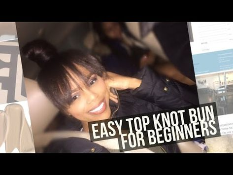 List Of Pinterest Top Knot Bun With Weave Natural Hair Images Top
