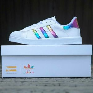 Adidas Superstar Shoes Holographic | Adidas shoes superstar ...