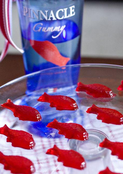 Swedish Fish Jello Shots