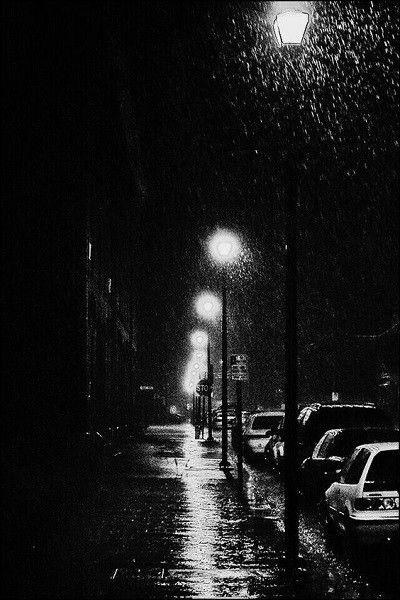 صور خلفيات سوداء Hd عالية الجودة بفبوف Night Photography Portrait Rain Photography Rainy Street