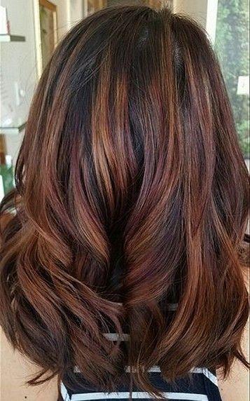 25 Subtle Hair Color Ideas For Brunettes Brunette Hair Color Ombre Hair Color Brunette Color