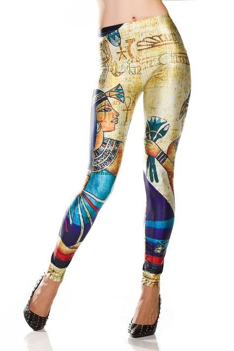 Lot Tattoo Printed Pattern Digital Graphic Stretch Leggings Tight Pants S M L XL
