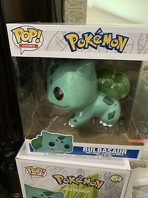 Ebay Ad Url Funko Pop Bulbasaur 10 Inch Pokemon Vinyl Figure Target Exclusive Rare Vinyl Figures Pop Vinyl Figures Vinyl