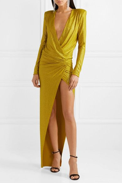 good looking half price size 40 Alexandre Vauthier | Draped crystal-embellished stretch ...