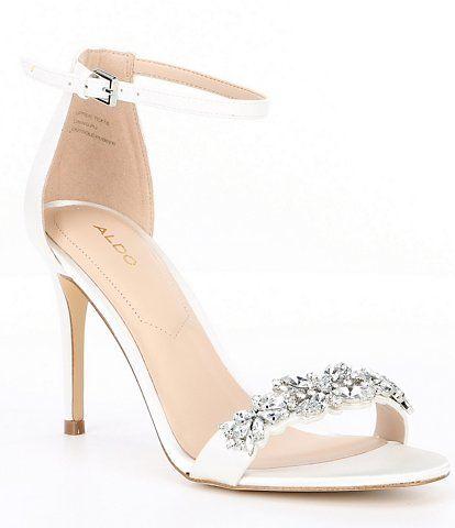 Aldo Women S Bridal Wedding Shoes Dillard S In 2020 Wedding Shoes Heels Bridal Wedding Shoes Bridal Shoes