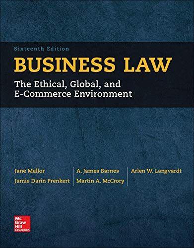 Ebooks Business Law Pdf Free Download Read Books Online Business Law Free In 2020 Business Law Mcgraw Hill Education E Textbooks