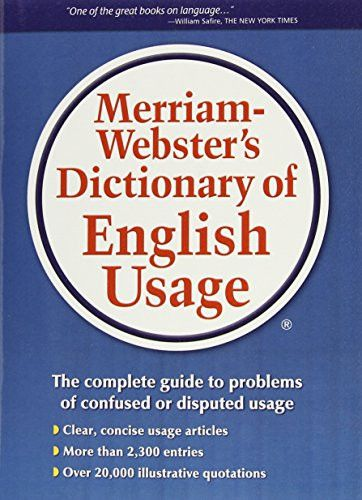 Merriam websters dictionary of english usage english and products malvernweather Gallery