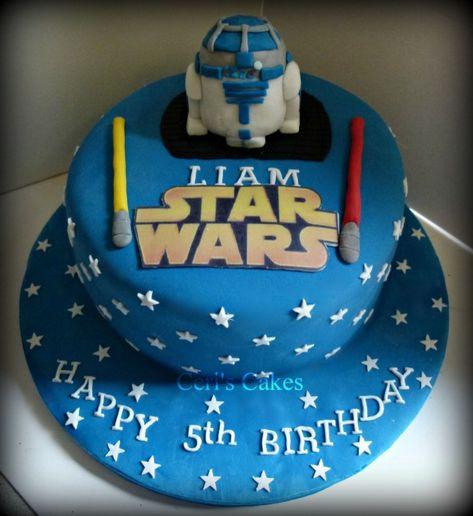 Star Wars Birthday Cakes Star Wars Cake Topper Party Stuff For Kiddos Pinterest Star