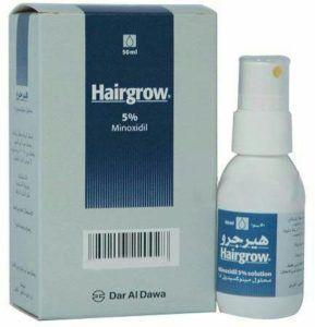 بخاخ Herbal H Minoxidil Alopecia Stress Derma Roller