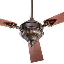 Buy The Quorum International Oiled Bronze Direct Shop For Brewster Three Blade Ceiling Fan And Save