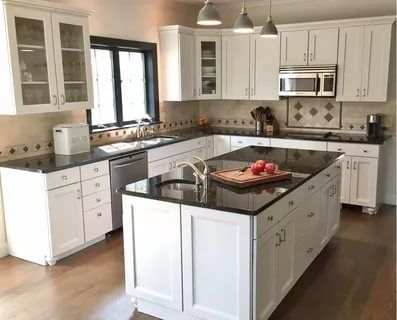 43 Brilliant L Shaped Kitchen Designs 2020 A Review On Kitchen Trends Kitchen Layout Kitchen Remodel Small Small Kitchen Layouts