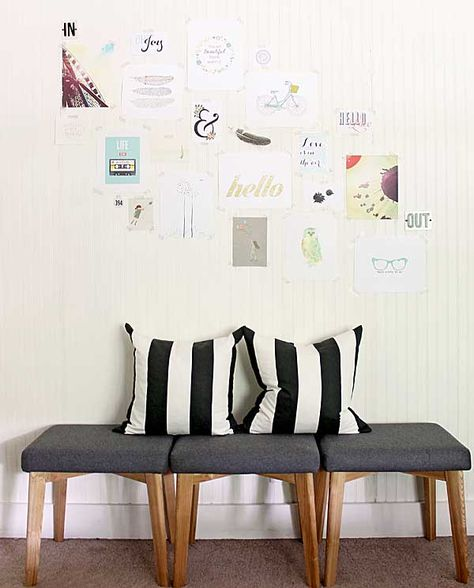 gallery made from free printables