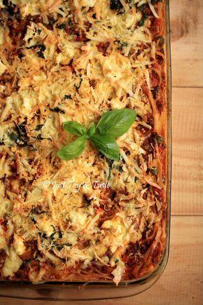 Resep Spaghetti Lasagna Mudah Dan Lezat Jtt Resep Pasta Makanan Dan Minuman Resep Masakan