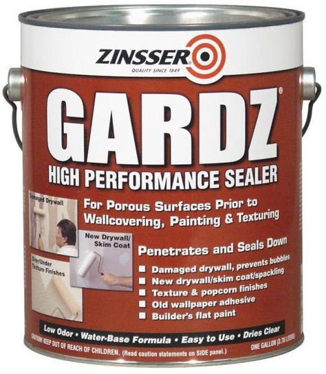 Zinsser 02301 Problem Surface Sealer 1 Gallon With Images Wall Sealer Sealer Drywall
