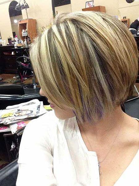 Short Straight Layered Bob Hairstyles